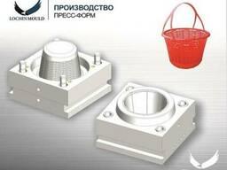 Пресс-форма - корзина для клубники