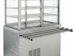 Прилавок-витрина охлаждаемый закрытый ПВ-11/7Н комплект