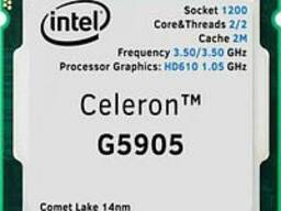 Процессор CPU, Intel-Celeron G5905, 3.5 Ghz, 2M, oem, LGA1200, Comet Lake
