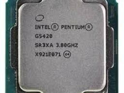 Процессор CPU, Intel-DualCore G5420, 3.8 Ghz, 4M, oem, LGA1151, Coffee Lake