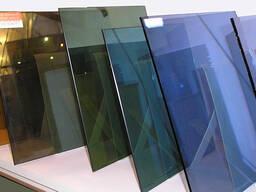 Производим оконные стекла разного вида и цвета
