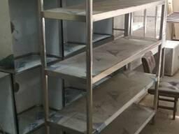 Производим стеллажи и столы из нержавеющей стали