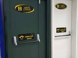 Противопожарные двери -Стальные двери