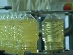 Рафинированое подсолнечное масло висшии сорт