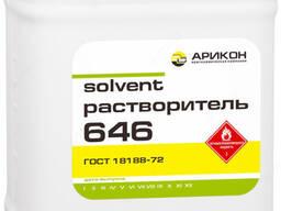 Растворитель Р-646 (в канистрах по 8кг/10л) ГОСТ 18188-72