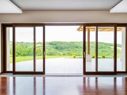 Раздвижные двери и окна из алюминиевого профиля