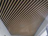 Реечный кубический рейка подвесной потолок - фото 5
