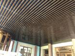 Реечный кубический рейка подвесной потолок - фото 7
