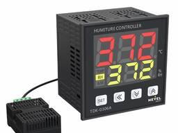 Регулятор температуры и влажности TDK-03-06A 100-240VAC -40-125C° 0-100%RH размер 96x96