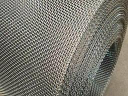 Рифленая нержавеющая сетка 20x20x1. 6 мм 12Х18Н10Т ГОСТ 3826-