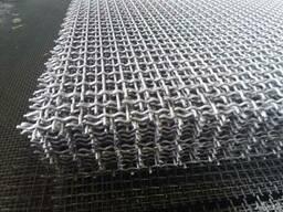 Рифленая нержавеющая сетка 5x5x1. 2 мм 12Х18Н10Т ГОСТ 3826-82