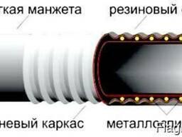Рукава резиновые напорно-всасывающие, гофрированные ГОСТ 5398-76