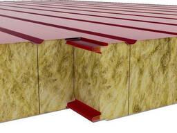 Кровельная сэндвич-панель из базальта 0.95 мм, 0,4 мм