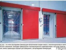 Сэндвич панели для холодильных камер(ППУ) стеновые, кровля