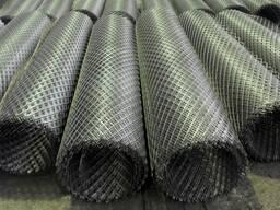 Сетка просеченная в рулоне 1х4 0, 3мм, 0, 4мм, 0, 7мм