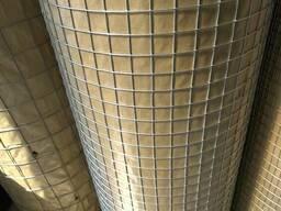 Сетка сварная оцинкованная 25х25х1.5 и др размеры