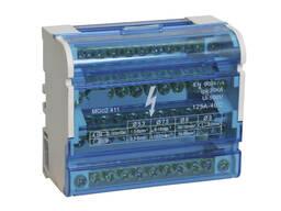 Шины на DIN-рейку в корпусе (кросс-модуль) ШНК 4х11 L PEN