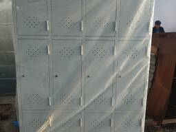 Шкаф металлический 12-ти секционный