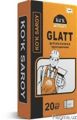 Шпатлёвка грунтовочная Ko`k Saroy GLATT 20 кг