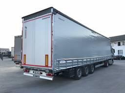 Шторные полуприцепы Schmitz Cargobull MEGA в Узбекистане