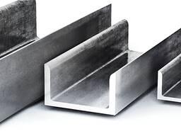 Швеллер алюминиевый АД31Т1 в ассортименте