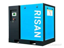 Скоростной винтовой воздушный компрессор 11кВт 15л. с. от фирмы Risan
