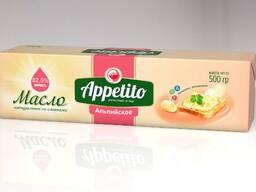 """Спред растительно-сливочный """"Appetito"""" с мдж 82, 5% 500гр"""