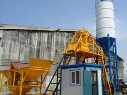 Стационарный бетонный завод модель НZS 25