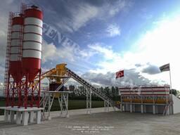 Стационарные бетонные заводы Titan 100