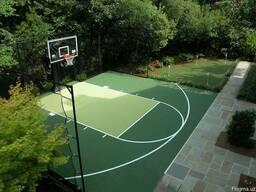 Строительство и покрытие баскетбольной площадки любого типа
