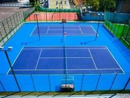 Строительство и покрытие теннисных кортов
