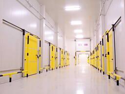 Строительство промышленные холодильников