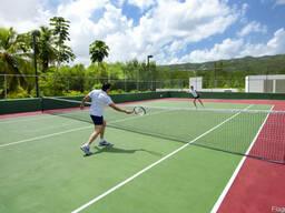 Строительство теннисных кортов в Ташкенте