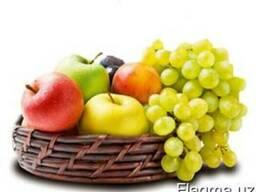 Сухофрукты, фрукты и овощи