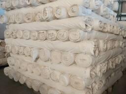 Суровых и готовых ткани; Бязь, поплин, сатин, вафельное полотно. Цена договорная.