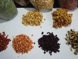 Сушеные Овощи и Фрукты (Сухофрукты) а так же Травы (Зелень)