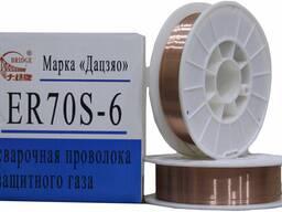 Сварочная омедненная проволока ER 70S-6 аналог СВ08