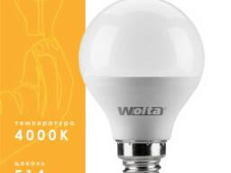 Светодиодная лампа с холодным белым светом 9Вт