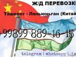 Ташкент - Ляньюньган (Китай) перевозка по ж/д - фото 1