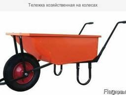 Тележка хозяйственная на колесах
