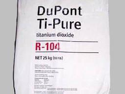 Ti-Pure R-104 Рутильный пигмент с голубым оттенком. Диоксид