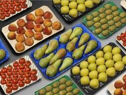 Транспортировочные ячейки для фруктов и овощей.