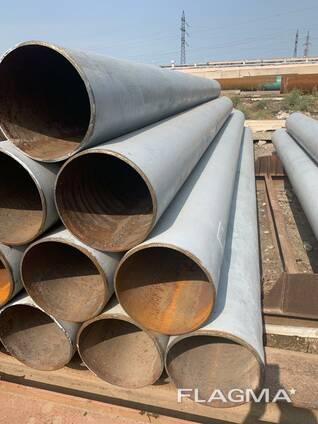 Труба стальная д-377*9-10мм (монтаж-демонтаж)