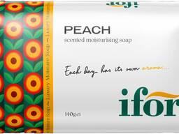 Твёрдое туалетное мыло IFOR Peach 140 g