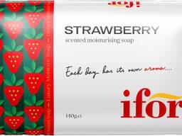 Твёрдое туалетное мыло IFOR Strawberry 140 g