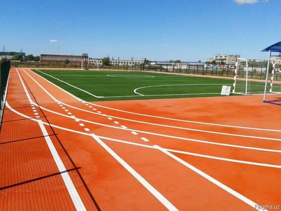 Универсальное резиновое покрытие спорт и детских площадок