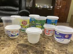 Упаковки, Стаканы и крышки для кисломолочных продуктов