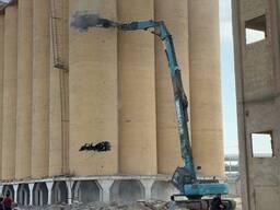 Услуги демонтажа высотных и монолитных зданий