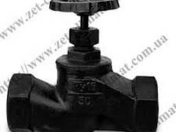 Вентиль муфтовый и фланцевый (разный диаметр)