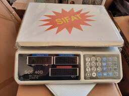 Весы электронные торговые до 30 кг